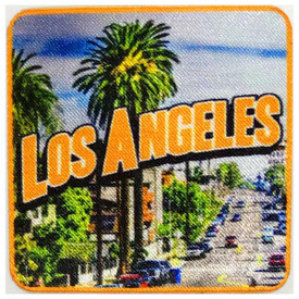 S-5390 Los Angeles Patch