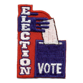 S-0491 Election Vote Patch