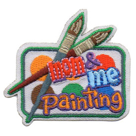 S-5424 Mom & Me Painting Patch