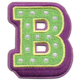 S-5426 Letter B Patch