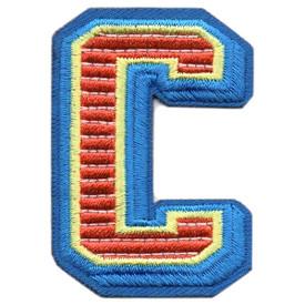 S-5427 Letter C Patch
