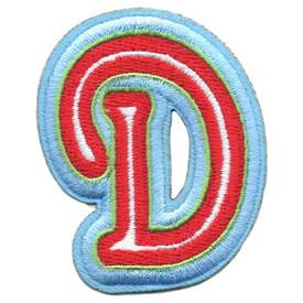 S-5428 Letter D Patch