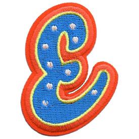 S-5429 Letter E Patch