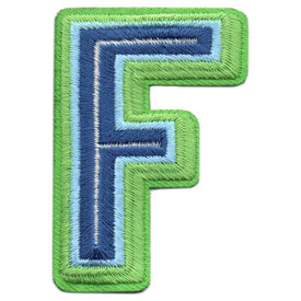 S-5430 Letter F Patch