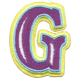 S-5431 Letter G Patch