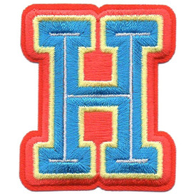 S-5432 Letter H Patch
