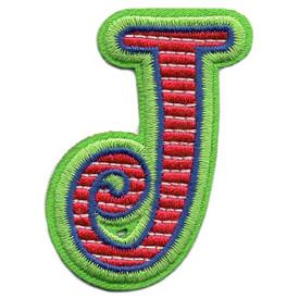 S-5434 Letter J Patch