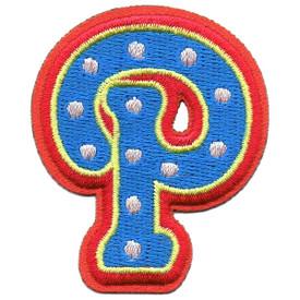 S-5440 Letter P Patch