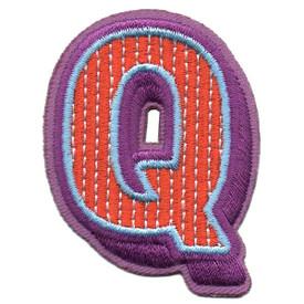 S-5441 Letter Q Patch