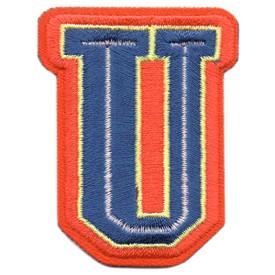 S-5445 Letter U Patch
