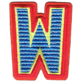 S-5447 Letter W Patch