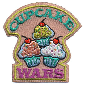S-5485 Cupcake Wars Patch