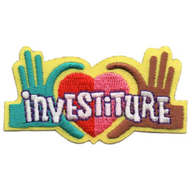 S-5487 Investiture Patch