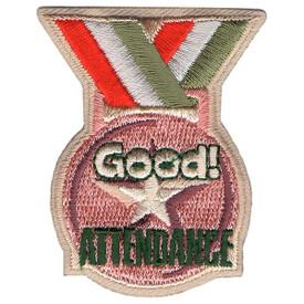 S-5490 Good Attendance Patch