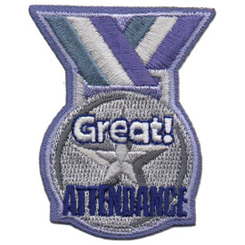 S-5491 Great Attendance Patch