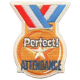 S-5493 Perfect Attendance Patch