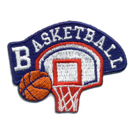 S-0503 Basketball (Backboard) Patch