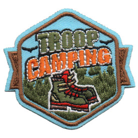 S-5517 Troop Camping Patch