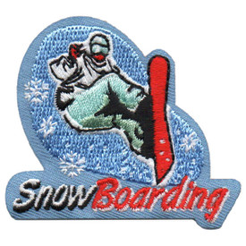 S-5518 Snow Boarding Patch