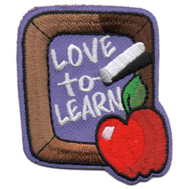 S-5523 Love to Learn Patch
