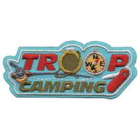 S-5527 Troop Camping Patch