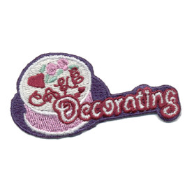 S-0508 Cake Decorating Patch