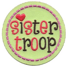 S-5538 Sister Troop Patch