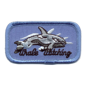 S-0510 Whale Watching Patch