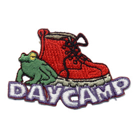 S-0513 Day Camp - Frog & Boot Patch