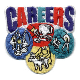 S-0514 Careers Patch
