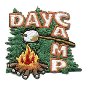 S-0516 Day Camp   Fire & Trees Patch