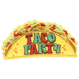 S-5615 Taco Party Patch