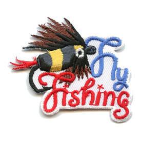 S-0517 Fly Fishing Patch