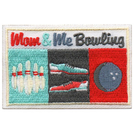 S-5627 Mom & Me Bowling Patch