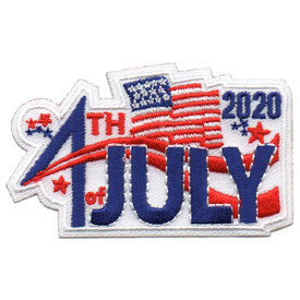 S-5628 2020 4th of July Patch