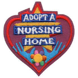 S-5629 Adopt A Nursing Home Patch