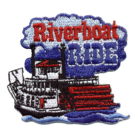 S-0518 Riverboat Ride Patch