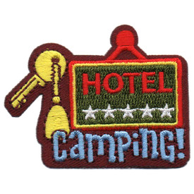 S-5659 Hotel Camping Patch