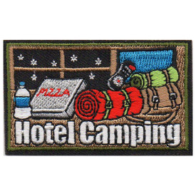 S-5665 Hotel Camping Patch
