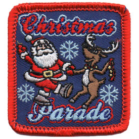 S-5667 Christmas Parade Patch
