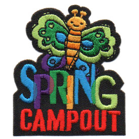 S-5685 Spring Campout Patch