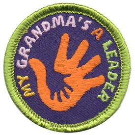 S-5688 My Grandma's a Leader Patch