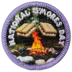 S-5694 National S'mores Day Patch