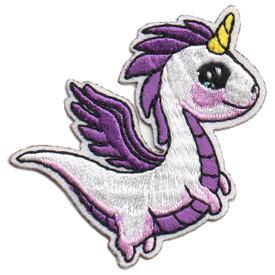 S-5695 Unicorn (White) Patch