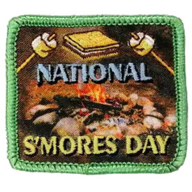 S-5699 National S'more Day Patch