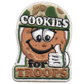 S-5707 Cookies for Troops Patch