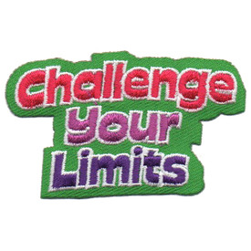 S-5711 Challenge Your Limits Patch
