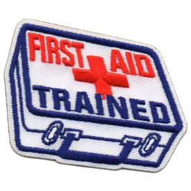 S-5716 First Aid Trained Patch