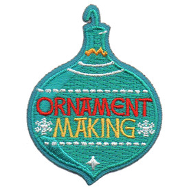 S-5725 Ornament Making Patch