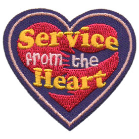 S-5727 Service From the Heart Patch